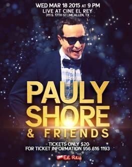 Pauly Shore - RGV Tickets